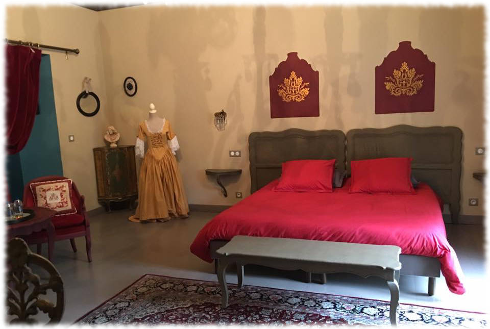 Bed and Breakfast Avignon - La Festival Big Bed